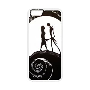 Nightmare Before Christmas iPhone 6 Plus 5.5 Inch Cell Phone Case White NRI5062304