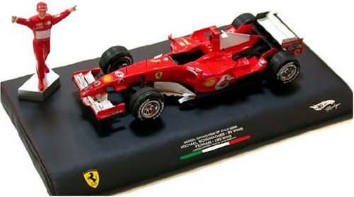 Hot Wheels M Schumacher 1:18 Ferrari F1 Die Cast