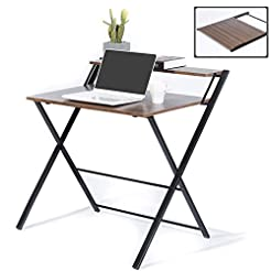 GreenForest Folding Desk for Small Space...