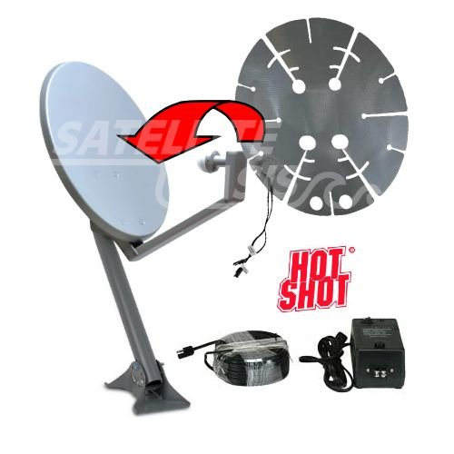 HotShot Satellite Dish Heater - 18-22 in. Dishes by HotShot