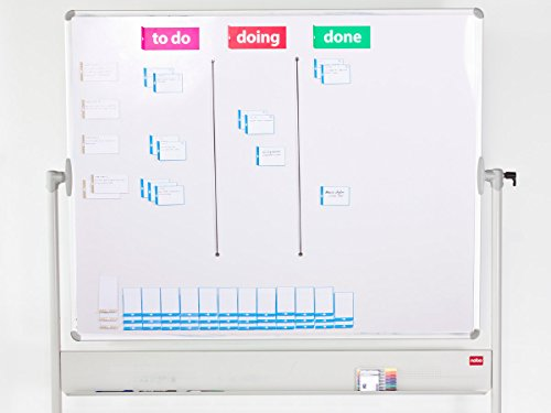 Scrum board tool kit for agile scrum kanban - magnetic cards - basic by PATboard.com