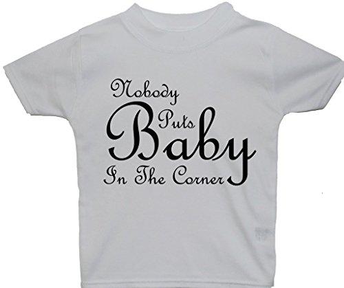 Nobody 12 Rouge Blanc 6 Bébé nbsp;ans Le Met 0 tops enfants Mois nbsp;à Dans 5 Coin T Bébé shirts fFqfarwx