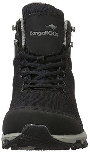 Hi Black Adulte Mixte Ku Noir KangaROOS S 522 Grey Basses I Dk Ew8yq4a