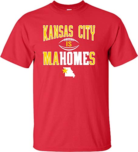 XX-Large Red Adult Kansas City is Mahomes T-Shirt