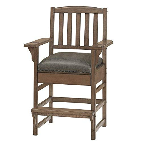 American Heritage King Chair in Glacier , Grey