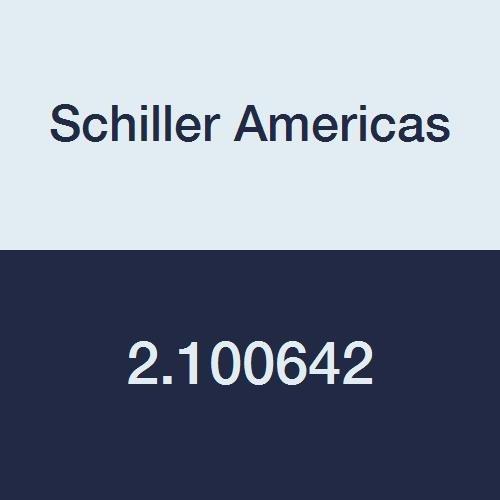 Schiller Americas 2.100642 ECG Cart with Shelf and Translucent Bin, Black by Schiller Americas