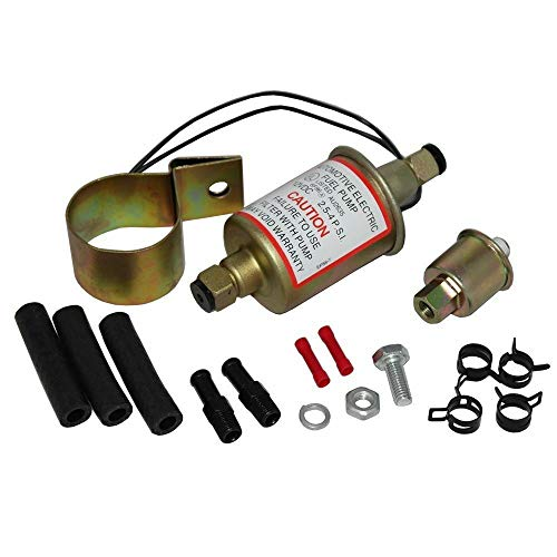 - New Electronic Fuel Pump E8016S Gas Diesel Marine Carbureted Universal 5 16