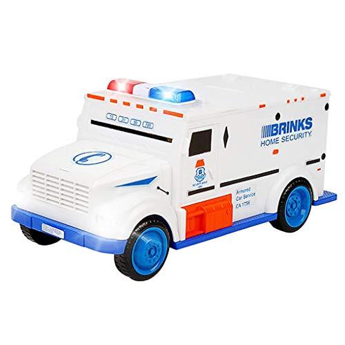 (LEERYAAY Innovative Cash Truck Shape Saving Pot Box Cultivate Children's Saving Money)