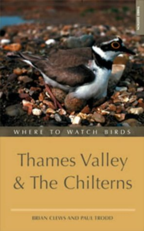 Where to Watch Birds in the Thames Valley and the Chilterns (Where to Watch Birds Series)