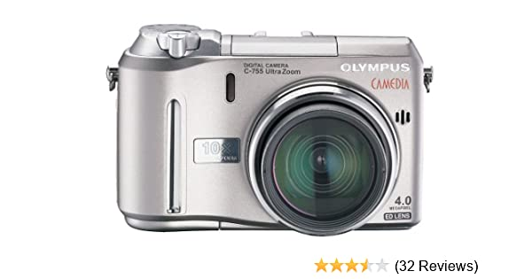 amazon com olympus camedia c755 4mp digital camera with 10x rh amazon com  olympus camedia c-760 ultra zoom manual