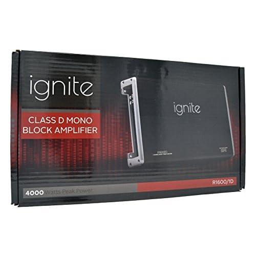 Ignite Audio Mono Block Class D Car Amplifier 4000 Watts Peak Power