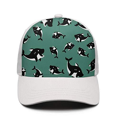Unisex Adjustable Sandwich Hats Cartoon Piranha Snapback Hip-Hop Cap Trucker ()