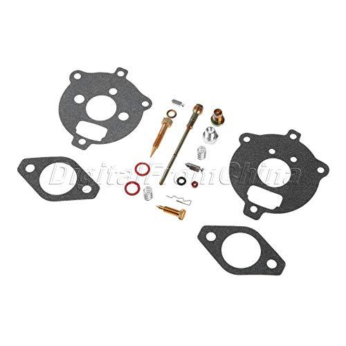 FidgetKute Carb Kit for Briggs & Stratton 394693 291763 295938 2 Piece Flo-Jet Carburetors