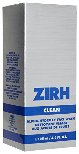 Zirh Clean Alpha-Hydroxy Face Wash, 4.2 fl. oz.