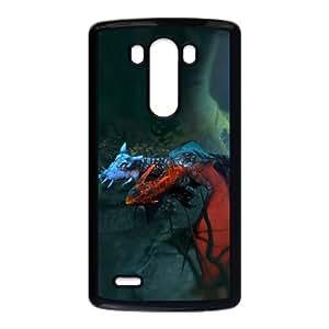 Defense Of The Ancients Dota 2 JAKIRO LG G3 Cell Phone Case Black ASD3837301