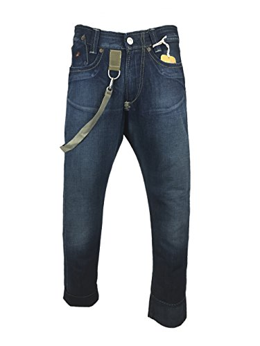 Energie Mescal Trousers Vintage Jeans with Military Style Details 31