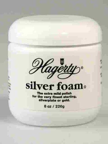 Hagerty Silver Foam Polish Tarnish Unscented Jar 7 Oz W.J. & Sons Ltd