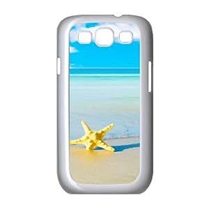 Starfish Beach Samsung Galaxy S3 Cases, [White]