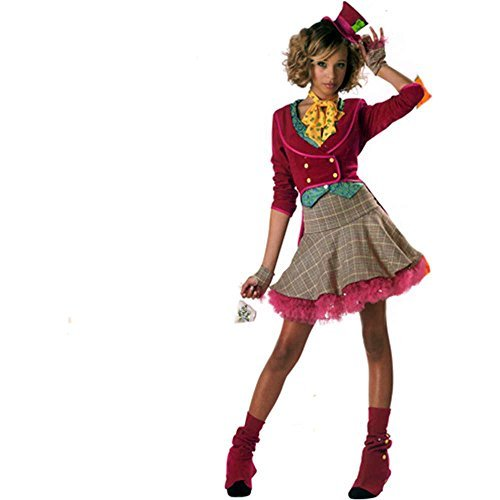 The Mad Hatter Teen Costume - 7-8 -