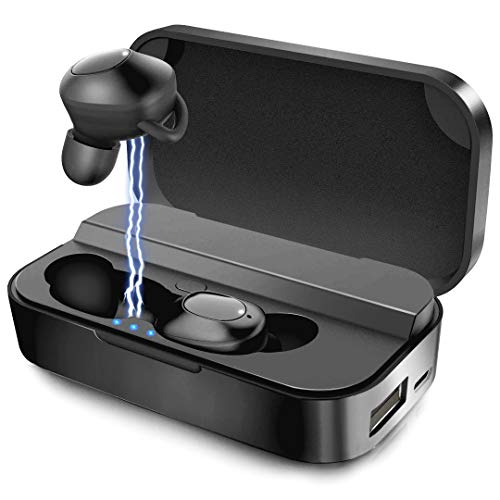 Wireless Earbuds Bluetooth-Ear buds Wireless Headphones Bluetooth 5.0 Waterproof 2600mAh Charging Case