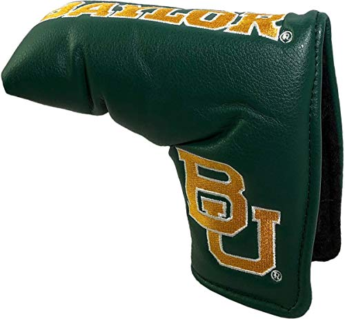 NCAA Baylor Bears Golf Vintage Magnetic Blade Putter Cover ()