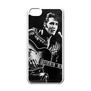 Elvis Presley iPhone 5C cover case, customized cover case for iPhone 5C Elvis Presley, customized Elvis Presley cell phone case
