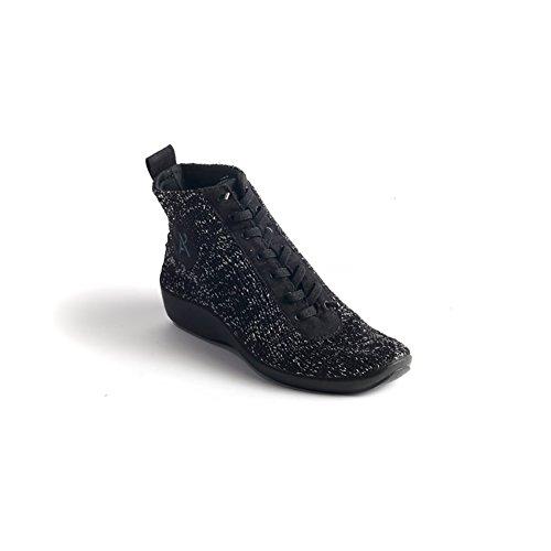 Arcopedico 1361 Schokken 5 Dameslaarzen Zwarte Sterrennacht