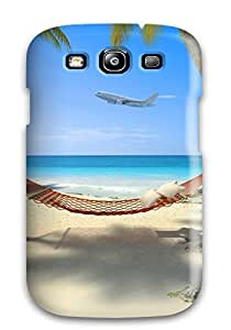 Galaxy Cover Case - Tropical Protective Case Compatibel With Galaxy S3