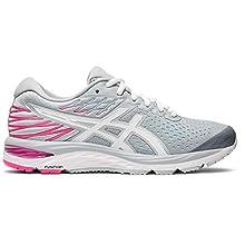 ASICS Women's Gel-Cumulus 21 Running Shoes, 11M, Piedmont Grey/White