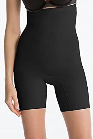 SPANX Women's In Power Super Higher Power Shaper, Black, X-Small