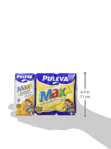 Puleva Max Energía y Crecimiento - Paquete de 8 x 600 ml - Total: 4800 ml: Amazon.es: Alimentación y bebidas