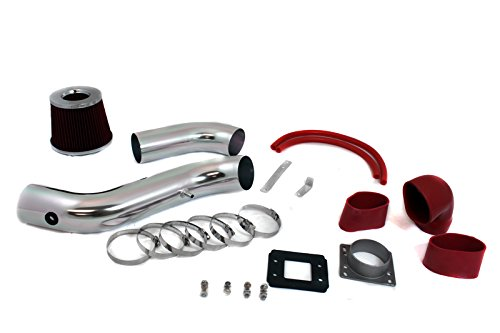 """R&L Racing 3"""" Cold Air Intake + Filter For 1998-2003 Ford Escort ZX2 with 2.0L L4 DOHC Engine"""