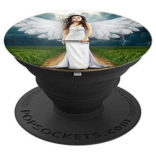 - Angel Nature Clouds Cloudiness Grass Way Landscape - PopSockets Grip and Stand for Phones and Tablets