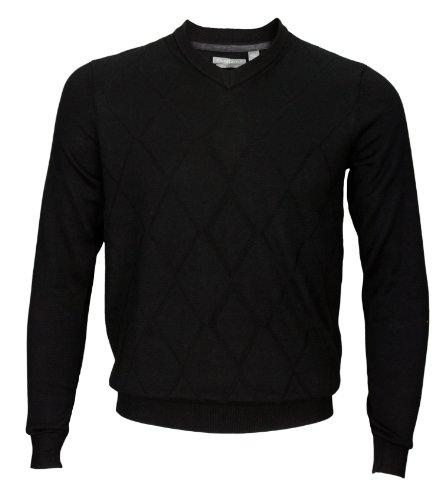 Ashworth Men's V-Neck Pullover Sweater (X-LARGE, - Lightweight Pullover Ashworth