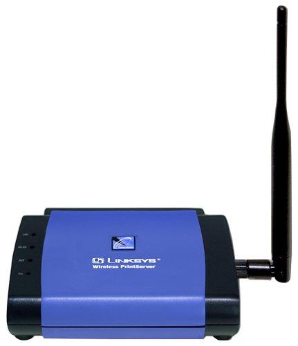 Cisco-Linksys WPS11 Wireless-B Print Server by Linksys