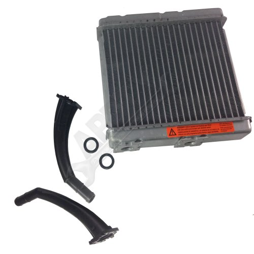 (APDTY 013100 & 8231386 Heater Core Kit With Inlet & Outlet Plastic Tube Pipes Fits 2000-2004 Nissan Xterra 4-Door 3.3L V6 / 2002 2003 2004 Nissan Frontier 4-Door (Replaces 27140-7Z102, 27140-1E400))