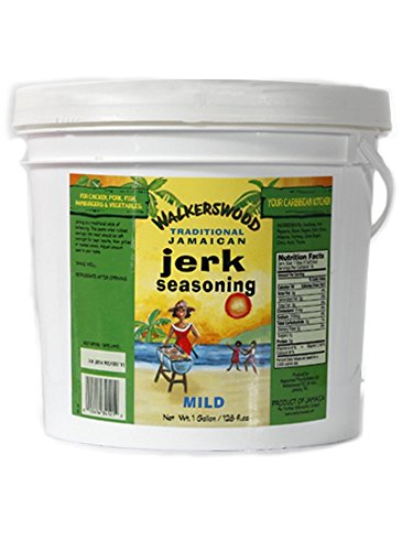 Walkerswood Jamaican Jerk Seasoning Mild Jumbo, 128 Ounce