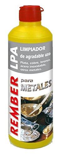 REMBER LPA Limpia metales y vitrocerámicas 0,5 lt.: Amazon ...