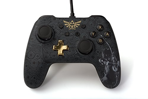 PowerA Wired Controller - Zelda: Breath of the Wild for Nintendo Switch