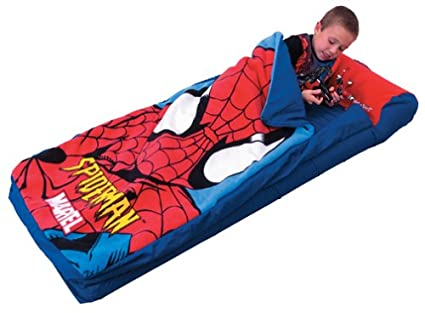Amazon.com: Spider Man Ready Bed Inflatable Sleeping Bag: Sports