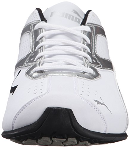 PUMA Men's Tazon 6 FM Puma White/ Puma Silver Running Shoe - 7.5 D(M) US by PUMA (Image #4)