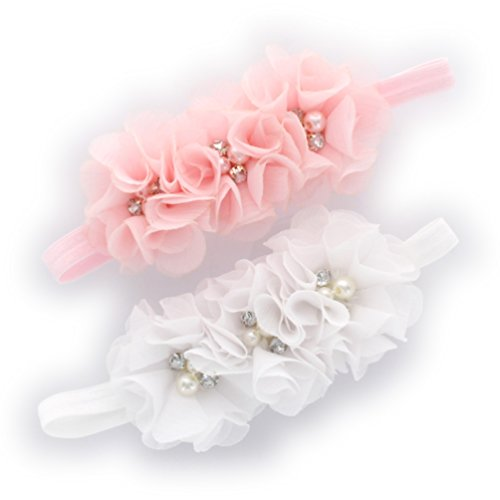 Pink Newborn Headband - 2