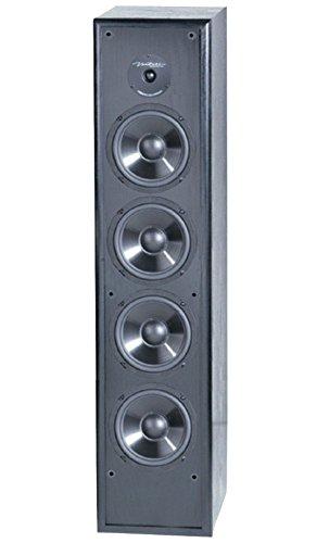 BIC America Venturi DV84 2-Way Tower Speaker, Black (Single) by BIC