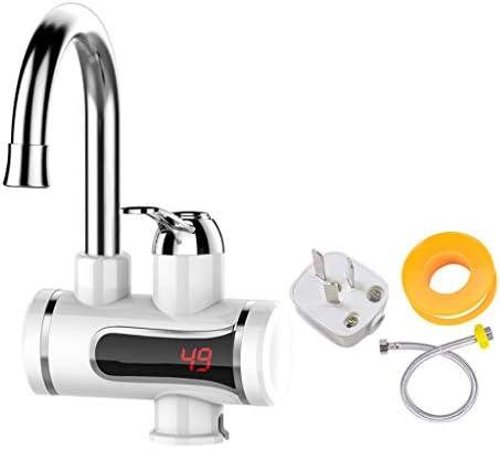LINGZHIGAN 電気蛇口クイックヒートインスタント暖房キッチンの宝物は、水道水を介して高速家庭用電気給湯器 (Color : A)