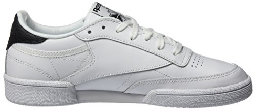 Trainers White 0 85 Women's Black Reebok C Club Emboss White tXdYzx