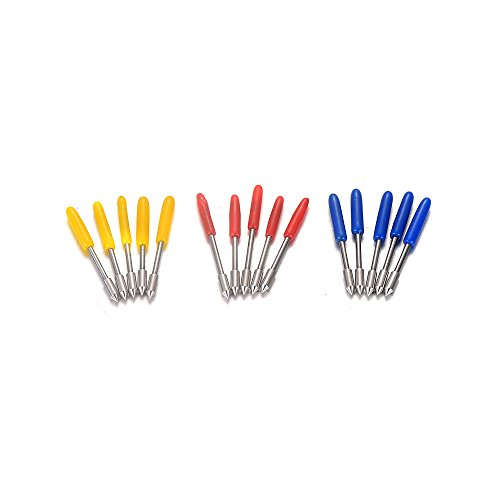 15pcs 45 Degree Cutter Blade for Cutting Plotter Vinyl with Holder - 5