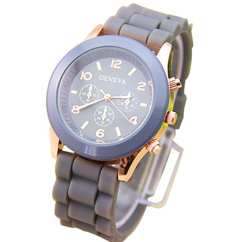 silicone jelly watch for men - 4