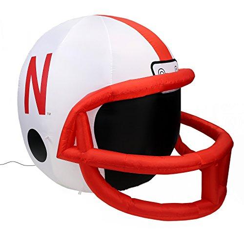 Fabrique Innovations NCAA  Inflatable Lawn Helmet, Nebraska Cornhuskers