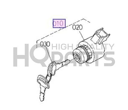 Amazon Com Kubota Ic Starter Switch Assy 15248 63590 Automotive