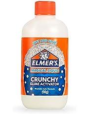 Elmer's 2096669 Elmer's Crunchy Slime Activator | Magical Liquid Glue Slime Activator, 8.75 FL. oz. Bottle - Great for Making Crunchy Slime, Multi